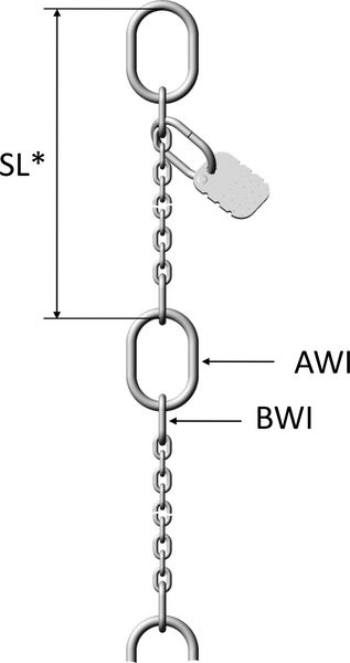 PCWI Stainless steel pump chains