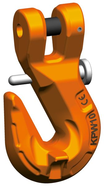 KPSW Clevis grab hook with safety catch